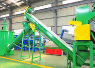 HDPE Hard Plastic Washing Recycling Machine , 304 Stainless Steel Machinery Used In Recycling