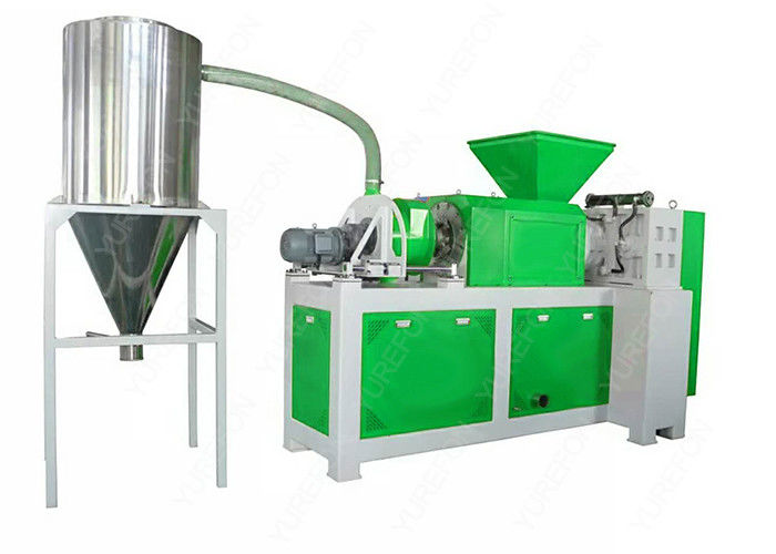 Waste Plastic Recycling Machine Line For Soft Wet Plastic Squeezing And Dehydration