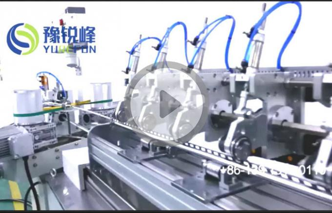 High speed automatic biodegradable paper drinking straw making machine