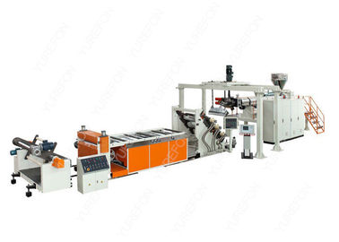 110 KW PP PS Pet Plastic Sheet Extrusion Line SJ120 With Bimetallic Screw Barrel