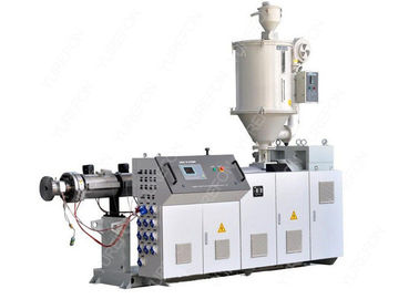 Automatic Single Screw Plastic Extruder , Pipe Profile Sheet Film Extrusion Machine
