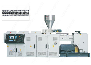 38CrMoAlA Parallel Twin Screw Plastic Extruder High Output With Vertical Integrated Gearbox