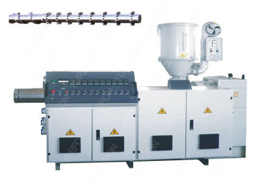 High Speed Single Screw Plastic Extruder Precise Control For HDPE Pipe Sheet Extrusion