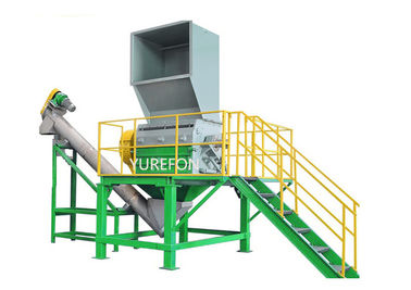 800 KG / H 55 KW Plastic Bottle Shredder Machine SNPC - 1200 Plastic Crushing