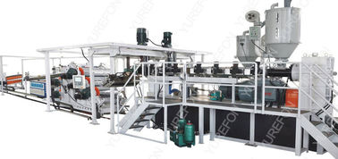 PP / PS Thermoplastic Extrusion Machine , SJ120 Packaging Sheet Extruder Making Machine