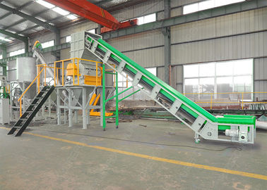 SNPC - 800 Plastic Crusher Machine YUREFON , 37 KW Pet Bottle Shredder Machine