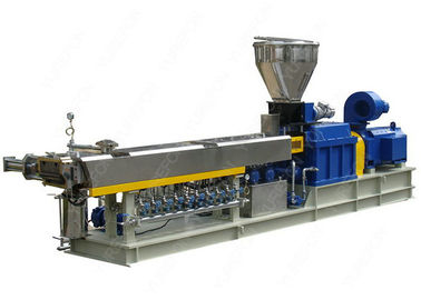 High Output Parallel Twin Screw Plastic Extruder For Plastic Compounding And Granulating